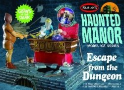 HAUNTED MANOR: ESCAPE FROM THE DUNGEON. SKALA 1/12