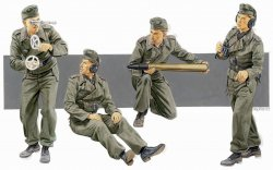 GERMAN MARDER III H. SELF-PROPELLED GUN CREW. SKALA 1/35