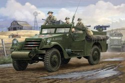 M3A1 WHITE SCOUT CAR EARLY PRODUCTION (SE TRUPP FN KONGO) SKALA 1:35