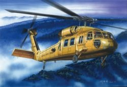 UH-60A BLACK HAWK (HELIKOPTER 16) SKALA 1:72