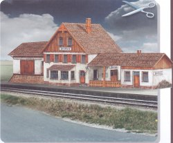 STATION FRIEDBACH. SKALA 1/87