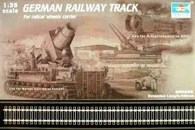 GERMAN RAILWAY TRACK SET SKALA 1/35