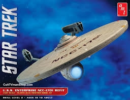 STAR TREK USS ENTERPRISE REFIT SKALA 1:537