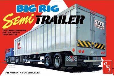 BIG RIG SEMI TRAILER. SKALA 1/15