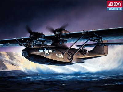 PBY-5 BLACK CATALINA. SKALA 1/72
