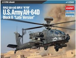 U.S. ARMY AH-64D BLOCK II. LATE VERSION. SKALA 1/72