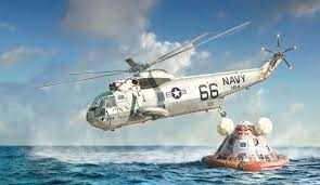 SH-3 SEA KING-MOON LANDING. SKALA 1/72