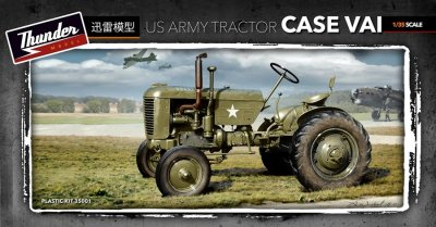 US ARMY TRACTOR CASE VAL. SKALA 1/35