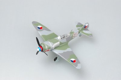 "LA-7 ""WHITE 64"" CZECH AIR FORCE SKALA 1:72"