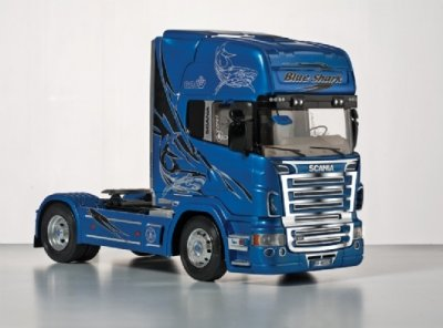 SCANIA R620 BLUE SHARK SKALA 1:24