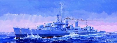 USS THE SULLIVANS DD-537 SKALA 1:350