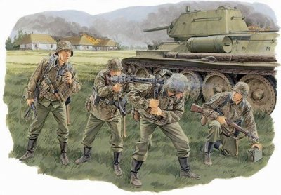 PANZERGRENADIES LHA DIV. SKALA 1/35