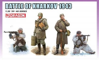 BATTLE OF KHARKOV 1943 (4 ST. FIGURER) SKALA 1/35