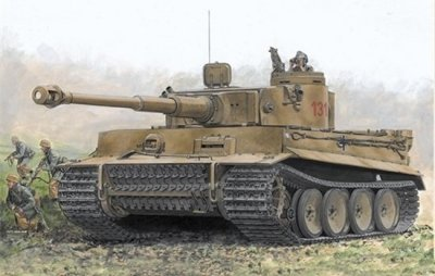 TIGER I EARLY PRODUCTION SKALA 1:72