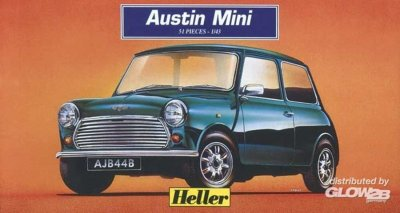 AUSTIN MINI RALLY SKALA 1:43