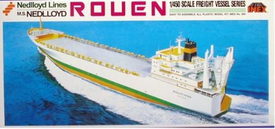"""ROUEN""RORO SHIP SKALA 1:450 CIVIL"
