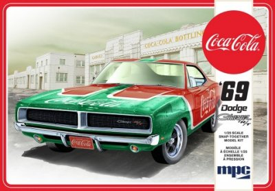 1969 COCA-COLA DODGE CHARGER R/T (SNAP) SKALA 1/25